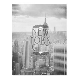 New York City Art Deco Splendor Travel Postcard