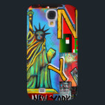 "New York City Art Samsung Galaxy S4 Case<br><div class=""desc"">New York City Art on products and gifts!</div>"
