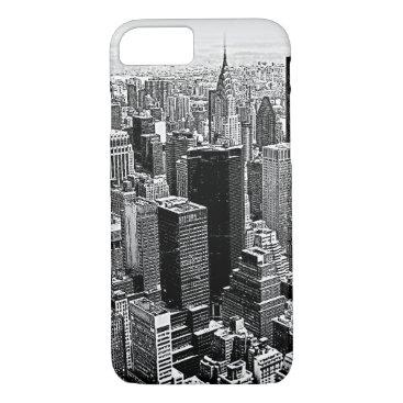 USA Themed New York City Artwork iPhone 7 Case