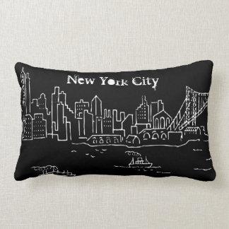 New York City Artwork Throw Pillow