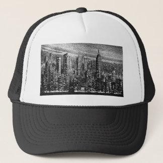 New York City Artwork Trucker Hat
