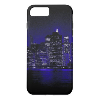 New York City At Blue Night iPhone 8 Plus/7 Plus Case