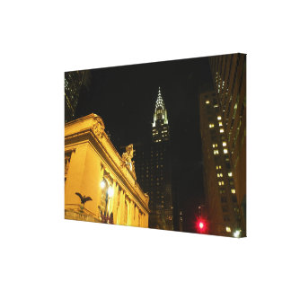 New York City at Grand Central Canvas Print