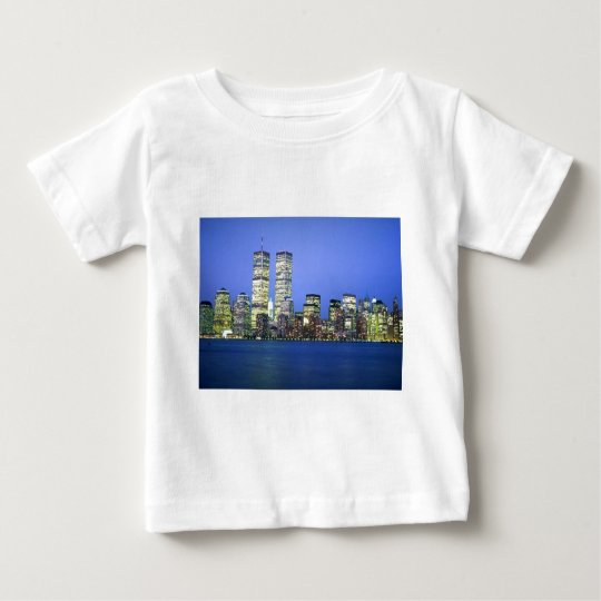 New York City at Night Baby T-Shirt