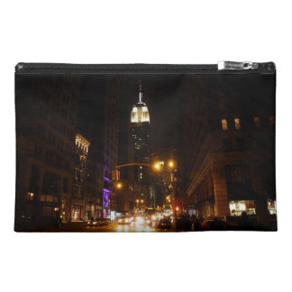 New York City at Night Travel Accessories Bag