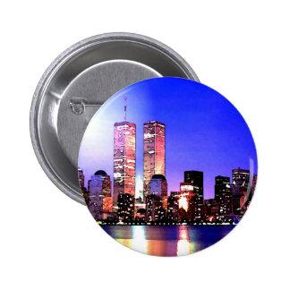 New York City at Night Pins