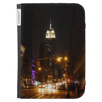 New York City at Night Kindle Cases