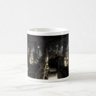 New York City at Night Classic White Coffee Mug