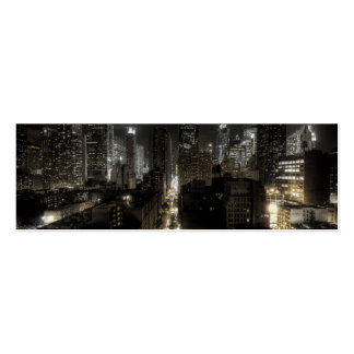 New York City at Night HDR Business Card