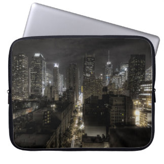 New York City at Night HDR Computer Sleeves