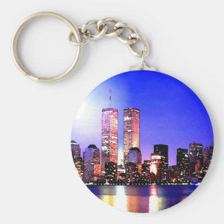 New York City at Night Key Chain