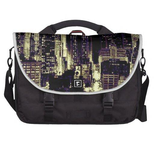 New York City at Night Laptop Commuter Bag