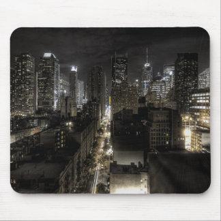 New York City at Night Mouse Pad