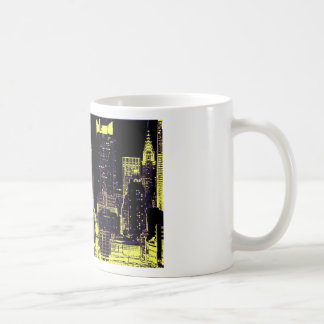 New York City at Night Mugs