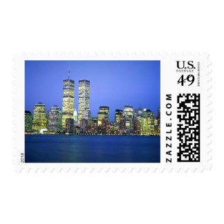 New York City at Night Stamps