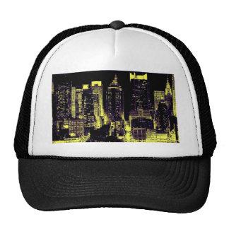 New York City at Night Trucker Hat