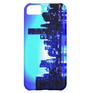 New York City azul Funda Para iPhone 5C