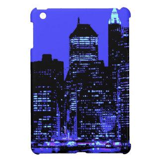 New York City azul iPad Mini Cobertura