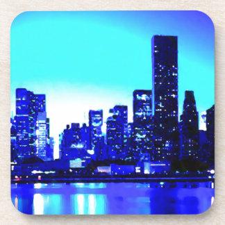 New York City azul Posavaso