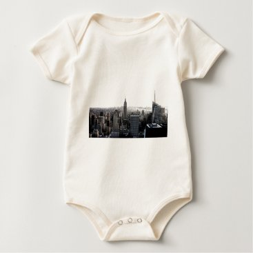 USA Themed New York City Baby Bodysuit