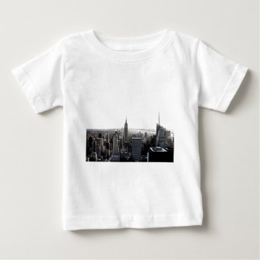 USA Themed New York City Baby T-Shirt