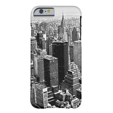 USA Themed New York City Barely There iPhone 6 Case