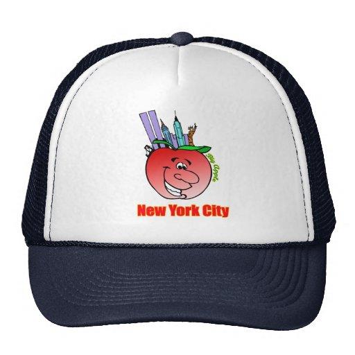 New York City Big Apple Trucker Hat | Zazzle
