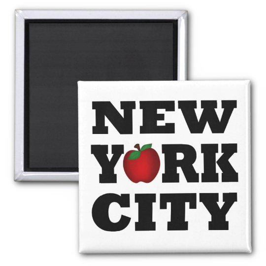 New York City  (Big Apple) Magnet