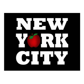 New York City  (Big Apple) Postcard