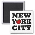 New York City  (Big Apple) Refrigerator Magnets