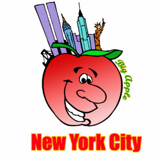 New York City Big Apple Statuette