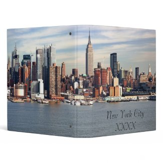 New York City Binder binder