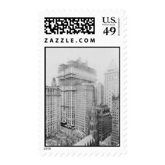 New York City Bird's-eye Views c1914 Stamps