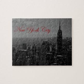 New York City blanco negro Puzzle