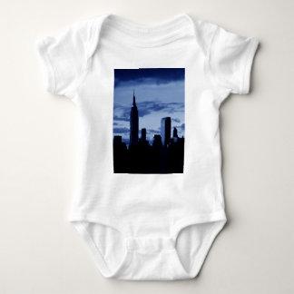 New York City & Blue Night Baby Bodysuit