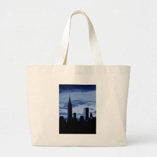 New York City & Blue Night Jumbo Tote Bag