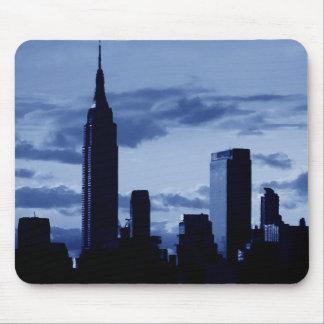 New York City & Blue Night Mouse Pad