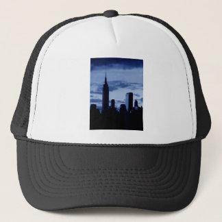 New York City & Blue Night Trucker Hat