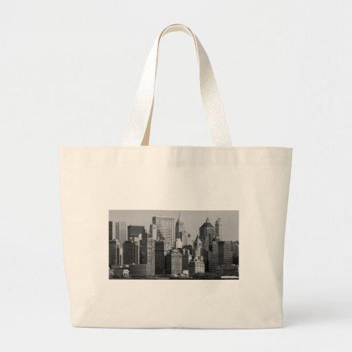 New York City Bolsa Tela Grande