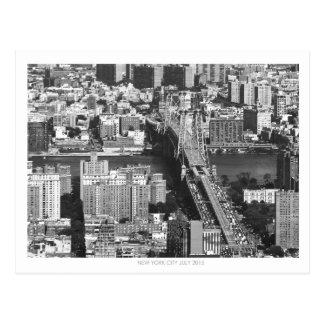 New York City Bridge Postcard