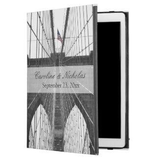 "New York City Brooklyn Bridge Wedding iPad Pro 12.9"" Case"