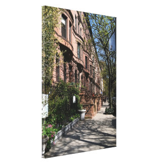 New York City Brownstones Upper West Side NYC Canvas Print