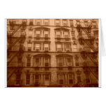 New York City Building Greeting Card