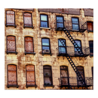 New York City Building Photo Poster