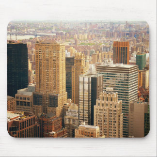 New York City Buildings in Midtown Manhattan Mouse Pad