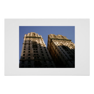 New York City Buildings  Poster