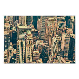 New York City Buildings Posters