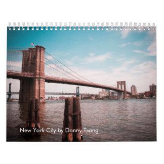 New York City by Donny Tsang Calendar
