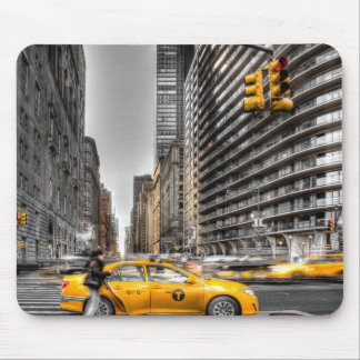 New York City cabs, Central Park Mouse Pad