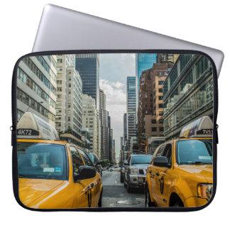 New York City Cabs Laptop Sleeve